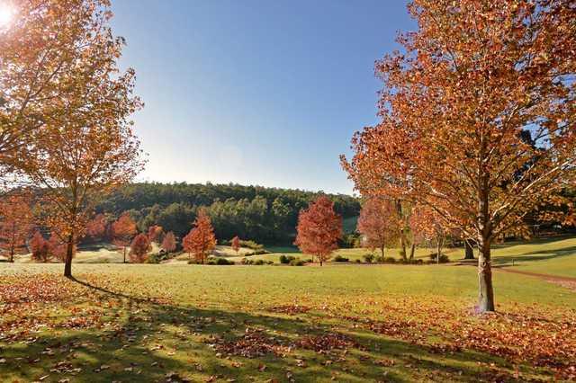 Fall view from Araluen Golf Resort.