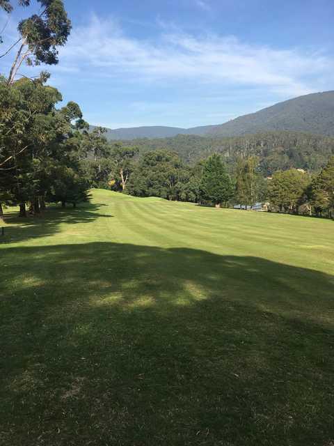 View from a fairway at Warburton Golf Club.
