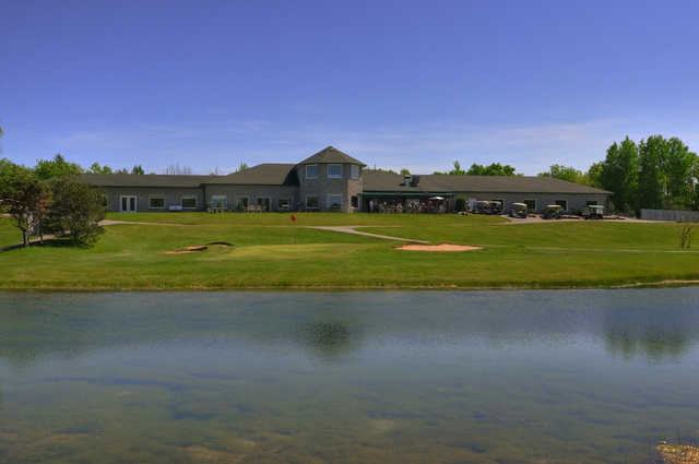 View of the clubhouse at Keystone Links Golf and Country Club