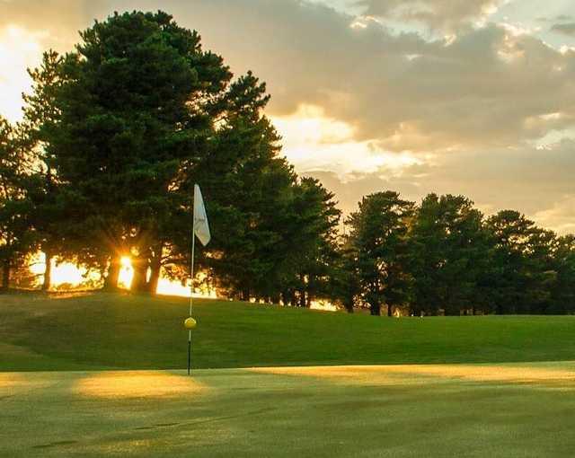 View from Goonawarra Golf Club