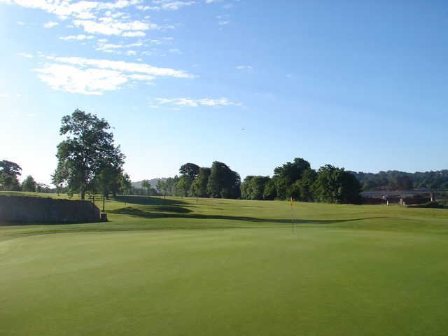 View of the 17th hole at Mahon Golf Club.