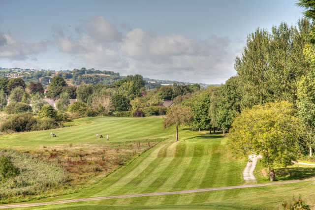 View from a tee at Mahon Golf Club.