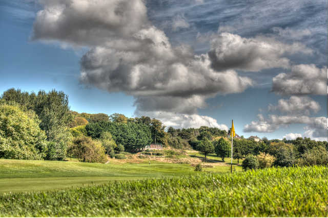 View from a green at Mahon Golf Club.