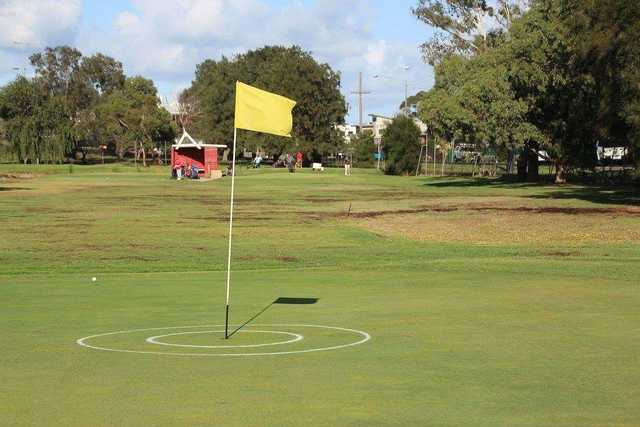 Green at Edithvale Public Golf Course