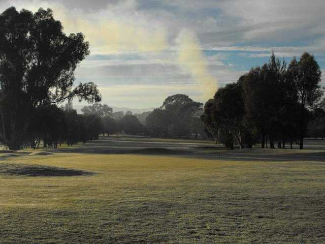 View from Mansfield Golf Club