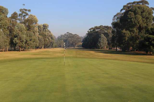 View from Benalla Golf Club's 9th green