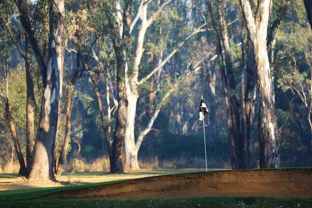View from Benalla Golf Club's 8th green