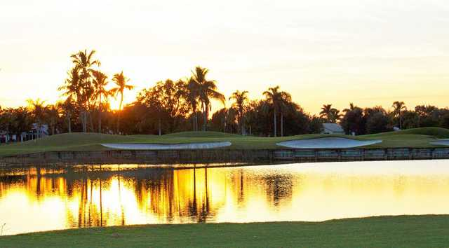 Sunset view from Westchester Golf & Country Club