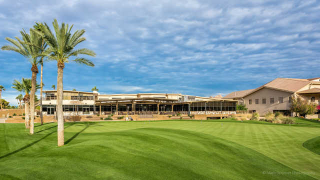 A view of the clubhouse at Moon Valley Country Club