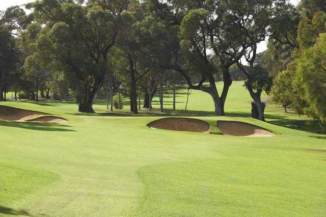 View from Royal Fremantle Golf Club