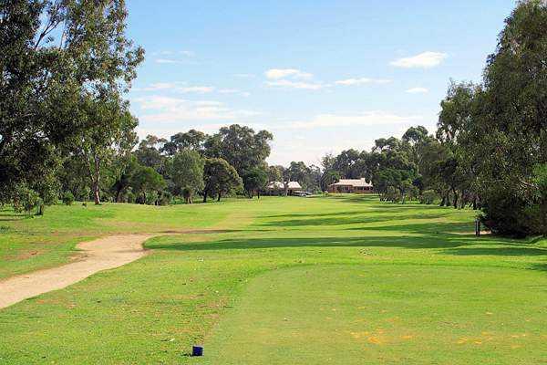 View from Rockingham Golf Club