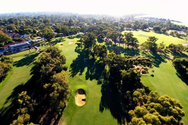 Nedlands Golf Club aerial photograph