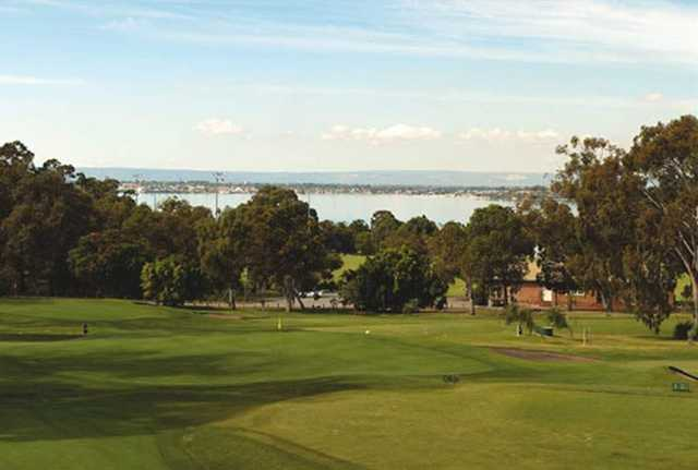 View from Nedlands Golf Club