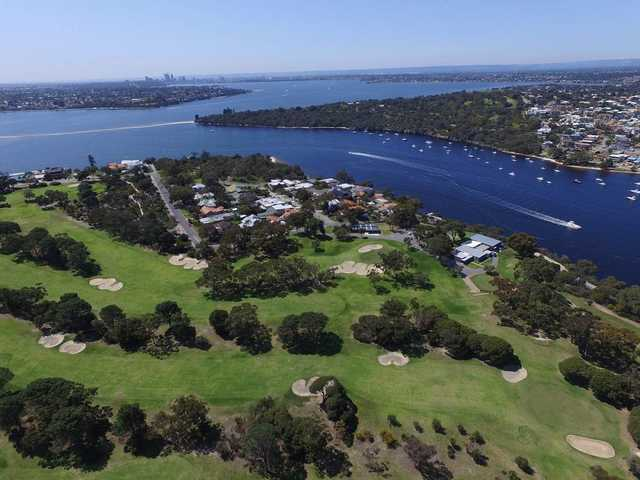 View from Mosman Park Golf Club