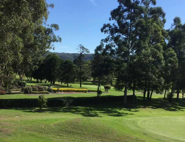 View from Gosford Golf Club