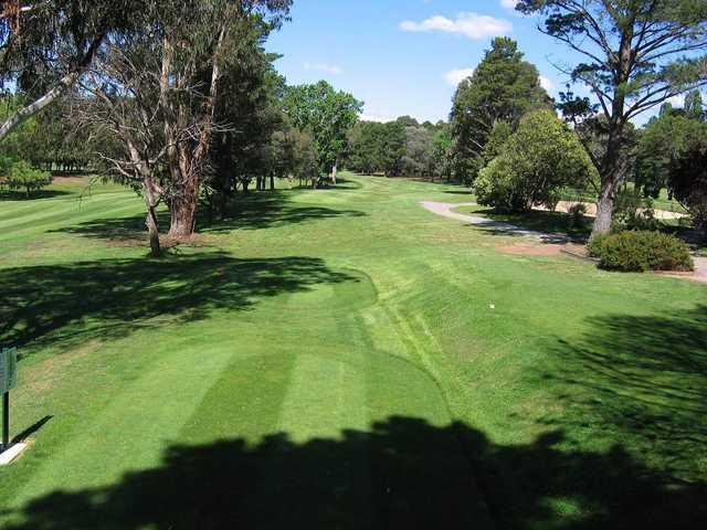 Queanbeyan Golf Club 3rd tee
