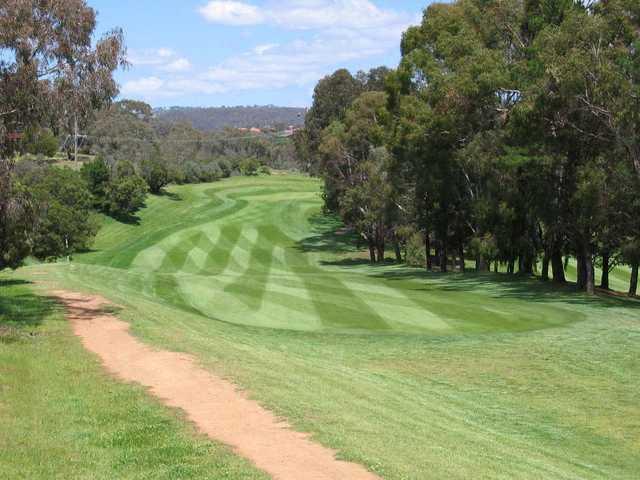 View from Queanbeyan Golf Club
