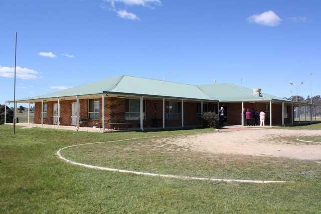 Bigga Golf Club's clubhouse