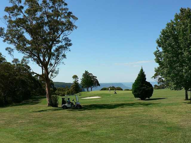 View from Leura Golf Club