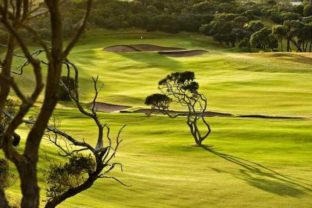 Portsea Golf Club's 1st and 18th