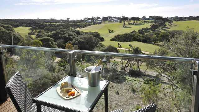 View from Portsea Golf Club