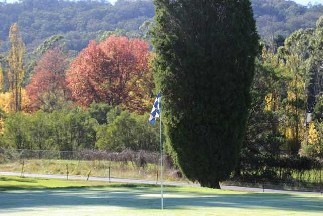 Gibraltar Country Club's 4th green