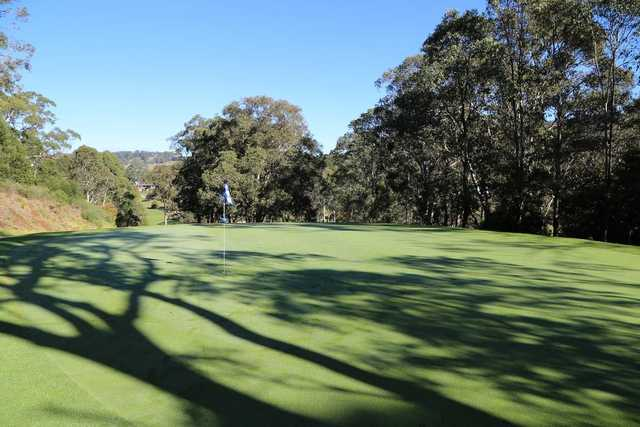 Gibraltar Country Club's 3rd green