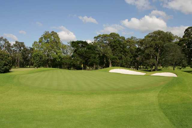 View from Bankstown Golf Club's 1st hole