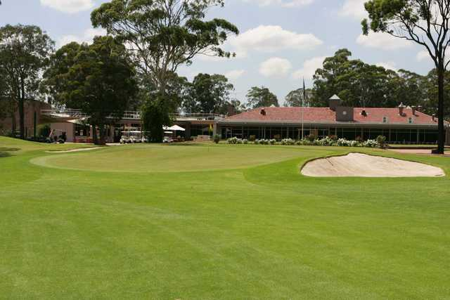 View from Bankstown Golf Club's 9th hole