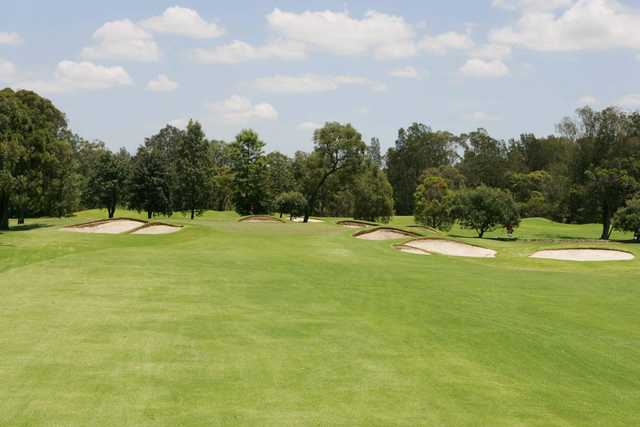 View from Bankstown Golf Club's 16th hole