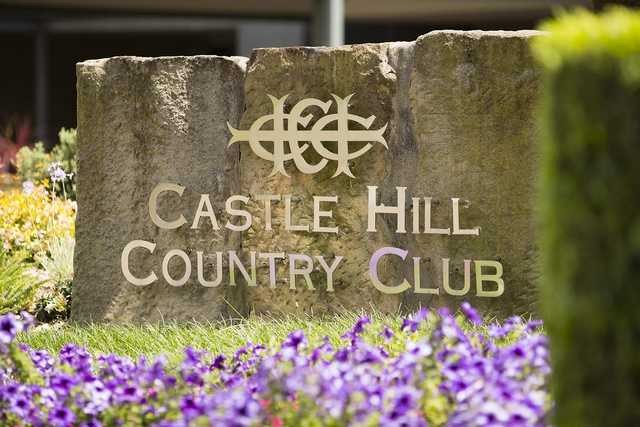 Castle Hill's sign