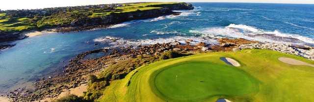 The Coast Golf: aerial view