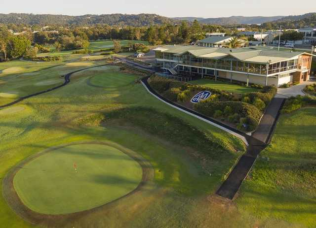 Mona Vale's clubhouse