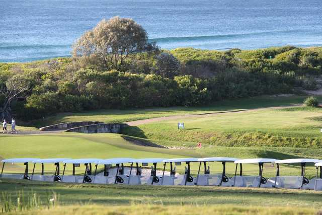 View from Mona Vale Golf Club