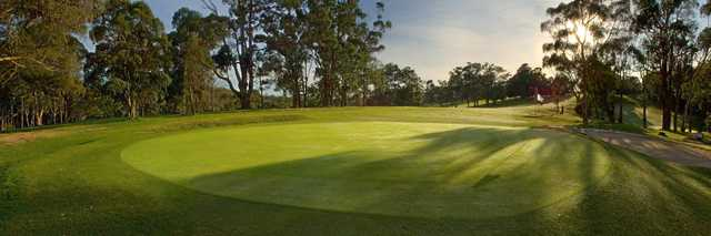 View from a green at Cardinia Beaconhills Golf Links.