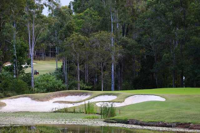 Brookwater's 16th green