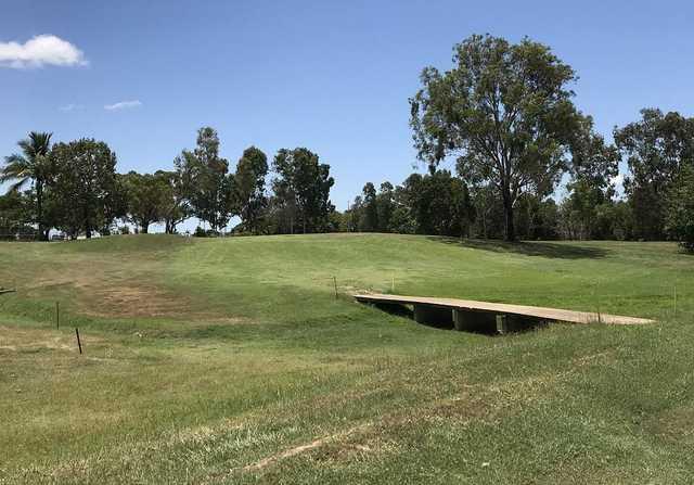 Lavarack Golf Club's 7th fairway