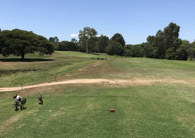 Lavarack Golf Club's 7th tee