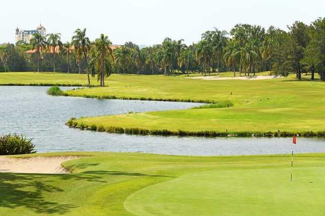 Palm Meadows '18th green