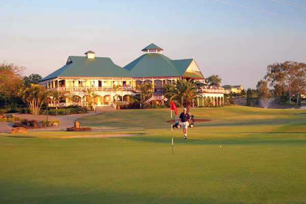 Palmer Colonial's clubhouse