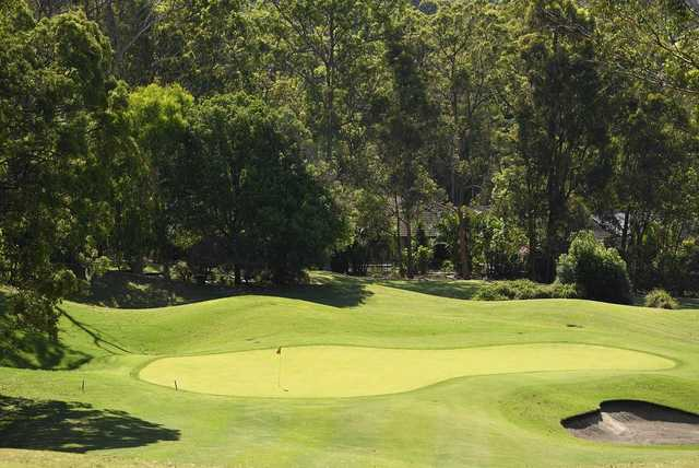 Palmer Gold Coast's 17th hole