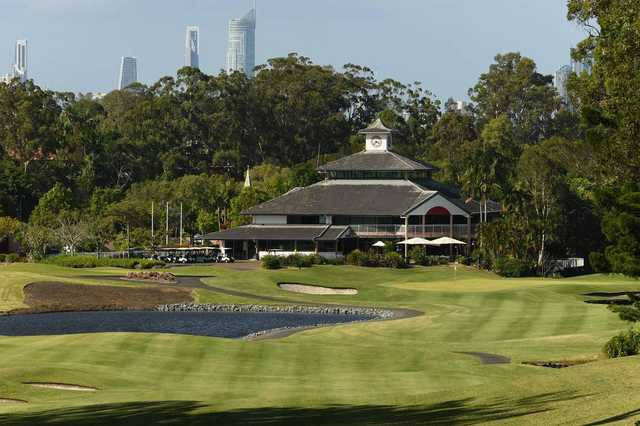 Palmer Gold Coast's 18th hole