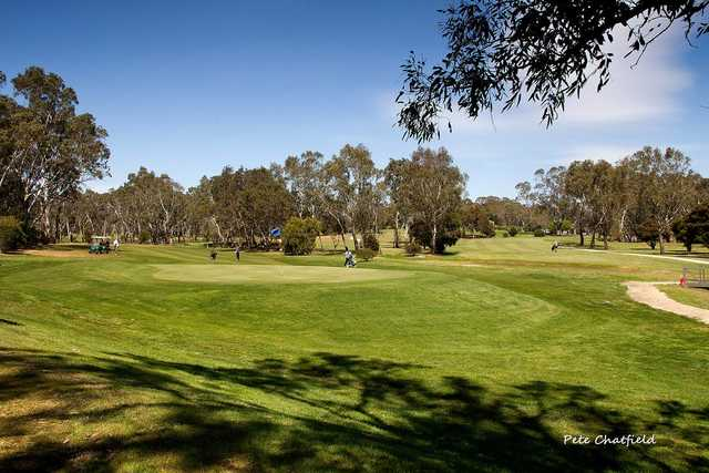 View from Aston Hills GC at Mount Barker