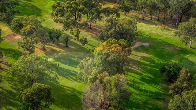 Valley View Golf Course aerial