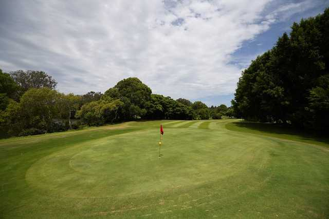Tallebudgera Golf Course 's 15th green