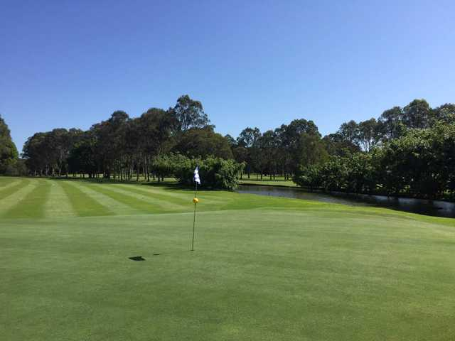 View from Tallebudgera Golf Course