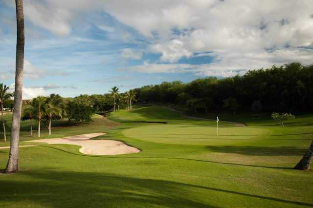 A view of the 4th hole at Ko Olina Golf Club.