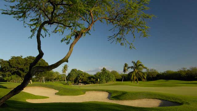 A view of hole #1 at Ewa Beach Golf Club.