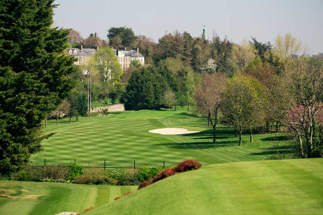 View of a green at Lucan Golf Club.
