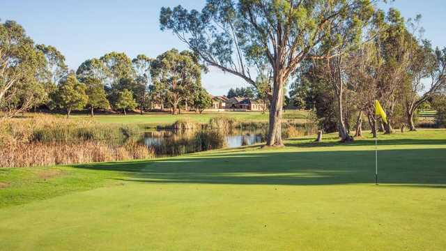 A view of a hole at Country Club Tasmania.